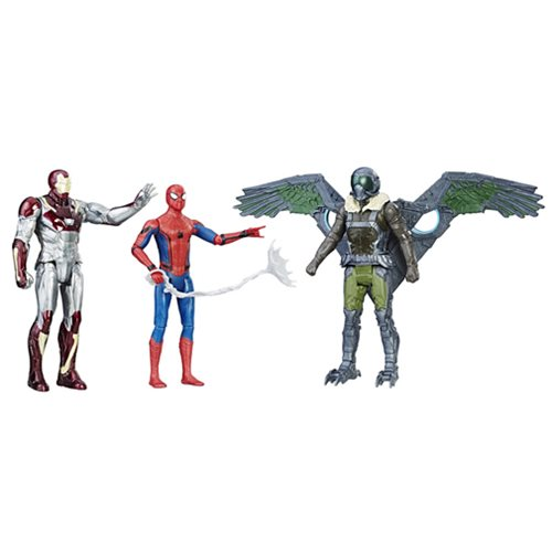 Spider-Man Homecoming Web City 6-inch Action Figure 3-Pack