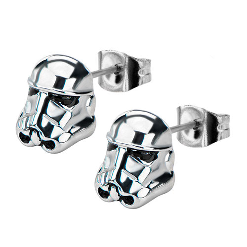 Star Wars Stormtrooper 3-D Stud Earrings