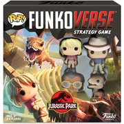 Jurassic Park 100 Pop! Funkoverse Strategy Game Base Set