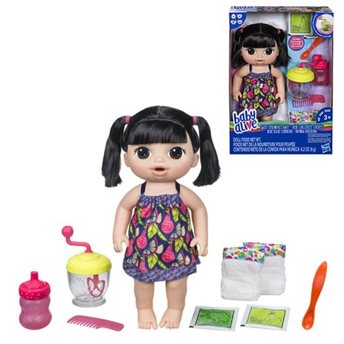 Baby Alive Sweet Spoonfuls Asian Baby Girl Doll