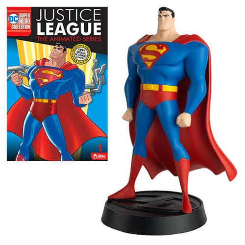 DC Justice League The Animated Series Series 1 Superman Statue with Collector Magazine #1