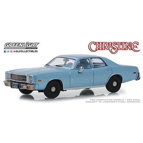 Christine (1983) - Detective Rudolph Junkins' 1977 Plymouth Fury 1:43 Scale Die-Cast Metal Vehicle