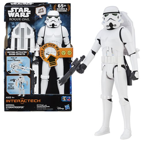 Star Wars Rogue One Hero Series Electronic Deluxe Stormtrooper 12-Inch Action Figure
