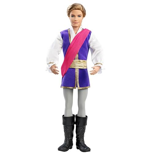 Barbie in the Pink Shoes Prince Siegfried Ken Doll