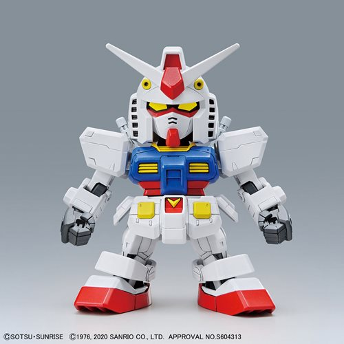 Gundam Hello Kitty and RX-78-2 Gundam SD-EX Standard Model Kit