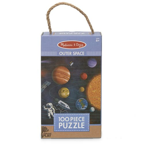 Melissa & Doug Natural Play Outer Space 100-Piece Jigsaw Puzzle