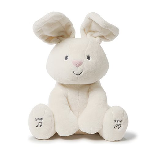 Flora Bunny Animated 12-Inch Plush