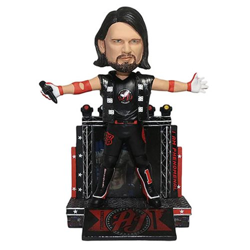 WWE AJ Styles Resin Bobble Head