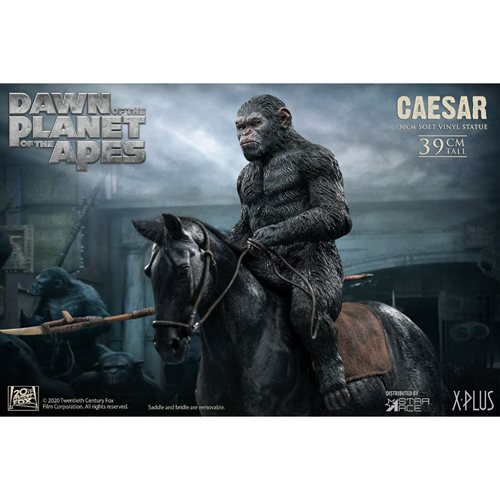 War for the Planet of the Apes Caesar with Rifle Soft Vinyl Statue