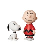 Peanuts Vintage Charlie Brown and Snoopy UDF Mini-Figures