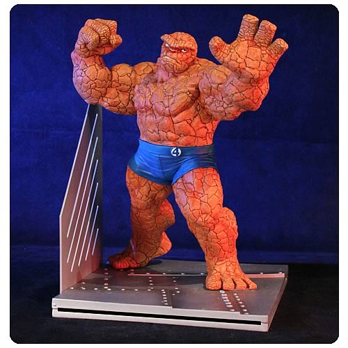 Fantastic Four Thing Bookend Statue