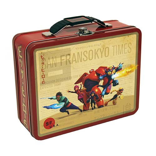 Big Hero 6 Marvel Team Tin Lunch Box