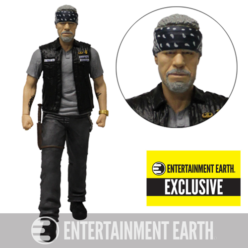 Sons of Anarchy Clay Morrow 6-Inch Variant Action Figure with Bandana - EE Exclusive