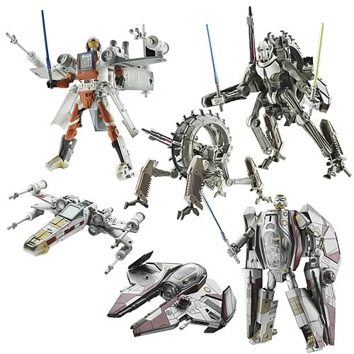 Star Wars Transformers Wave 1.5