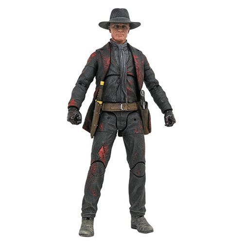 Westworld Man in Black Battle  Diamond Action Figure - Previews Exclusive