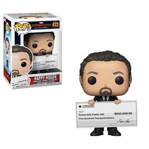 Spider-Man: Far From Home Happy Hogan Pop! Vinyl Figure