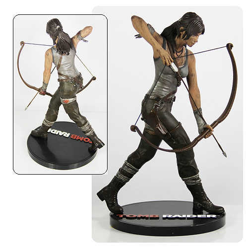 Tomb Raider Lara Croft 9 Inch Statue Entertainment Earth