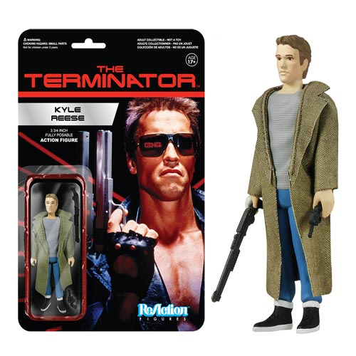 Terminator Kyle Reese ReAction 3 3/4-Inch Retro Action Figure