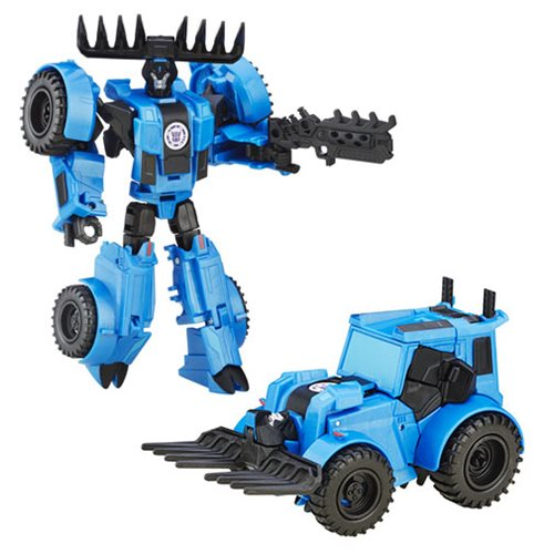 Transformers Robots in Disguise Warrior Class Weaponizers Thunderhoof