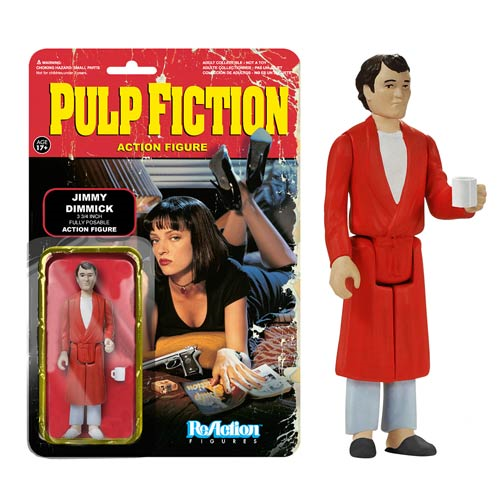 Pulp Fiction Jimmie Dimmick ReAction 4-Inch Retro Action Figure