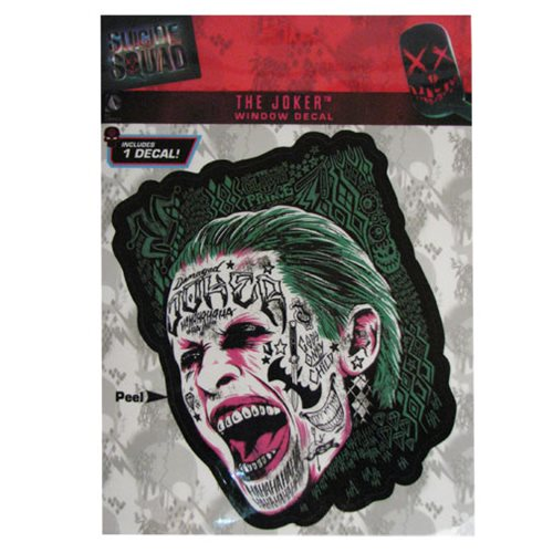 Suicide Squad Joker Decal