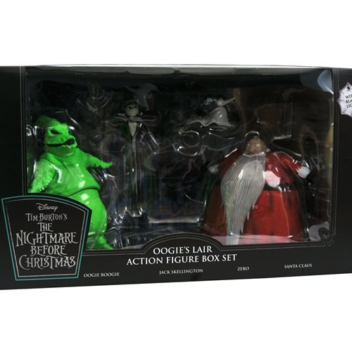 Nightmare Before Christmas Lighted Action Figure Box Set - San Diego Comic-Con 2020 Previews Exclusi