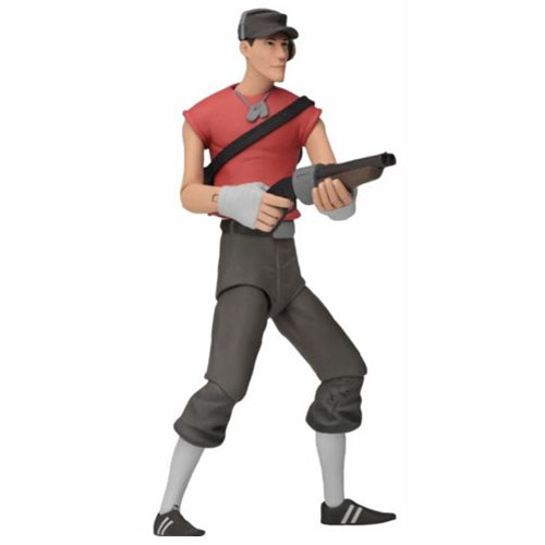 Team Fortress 2 Series 4 Red Action Figure Set
