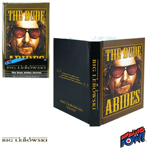 The Big Lebowski The Dude Abides Journal