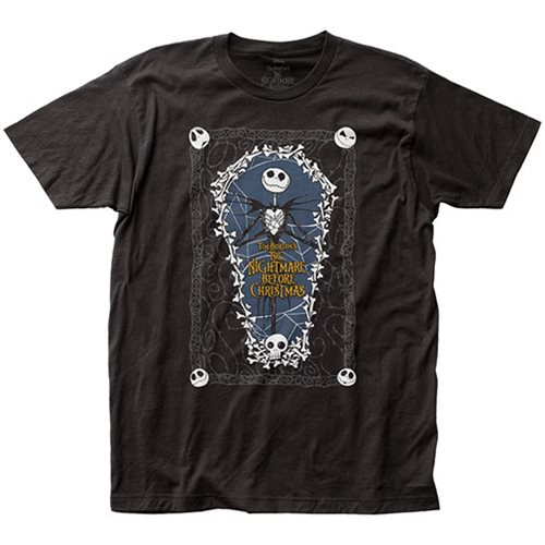 Nightmare Before Christmas Coffin T-Shirt