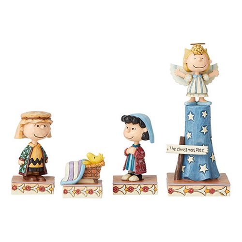 Peanuts Christmas Pageant by Jim Shore Statue Set 1