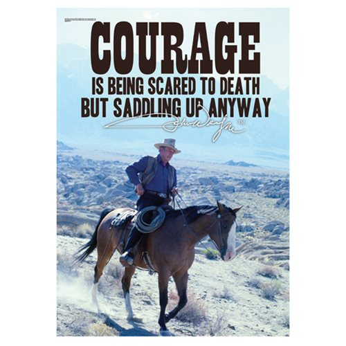 John Wayne Courage MightyPrint Wall Art Print