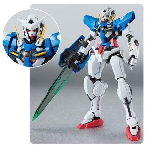 Mobile Suit Gundam 00 Gundam Exia Repair II and Repair III Parts Set Robot Spirits Action Figure