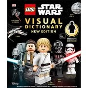LEGO Star Wars Visual Dictionary: New Edition With Mini-Figure Hardcover Book
