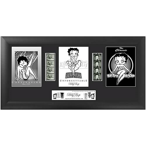 Betty Boop Series 2 Trio Film Cell
