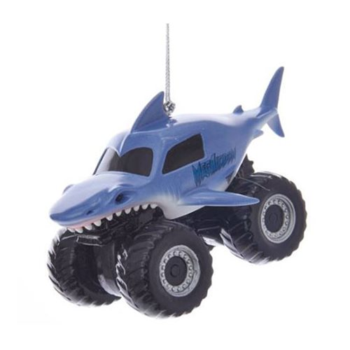 Monster Jam Megalodon Ornament