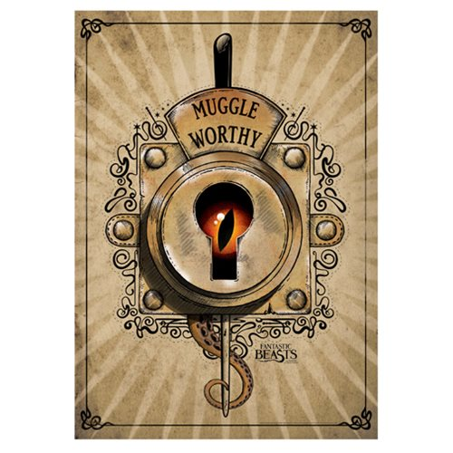 Fantastic Beasts and Where To Find Them Muggle Worthy MightyPrint Wall Art Print