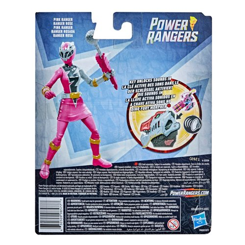 Power Rangers Dino Fury Pink Ranger 6-Inch Action Figure