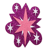My Little Pony Friendship is Magic Twilight Sparkle Glitter Patch