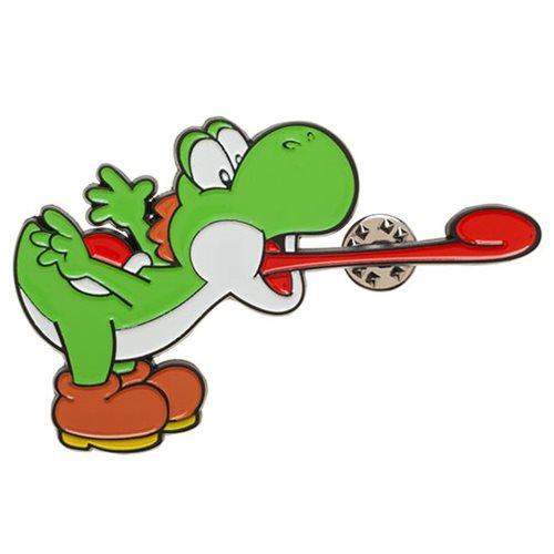Super Mario Bros Yoshi 3 Inch Lapel Pin Entertainment Earth