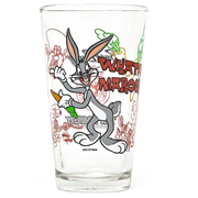 Looney Tunes Bugs Bunny Toon Tumbler Pint Glass