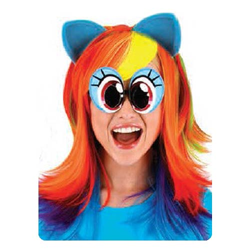 My Little Pony Friendship is Magic Rainbow Dash Wig with Ears