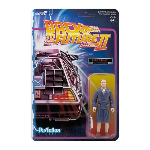 Back to the Future Biff Tannen 3 3/4-Inch ReAction Figure