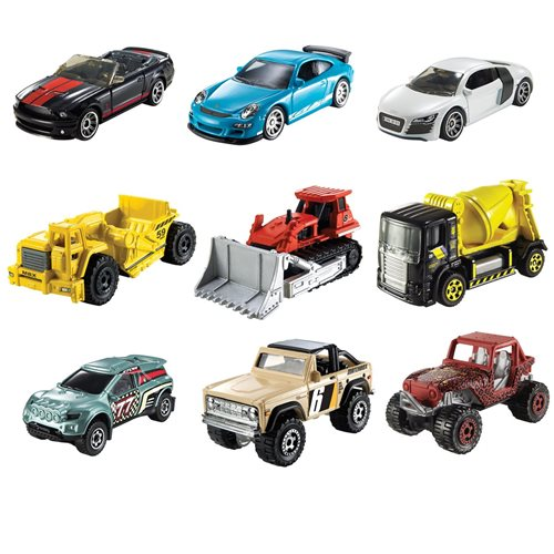 Matchbox Car Collection 2020 Wave 4D Vehicles Case