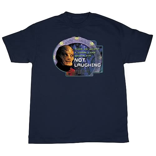 Stargate SG-1 Not Laughing T-Shirt