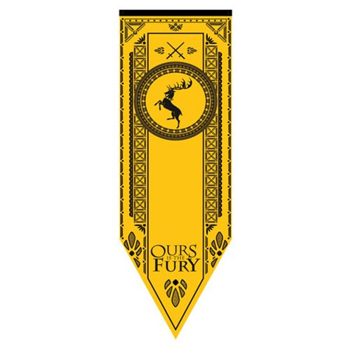 Game of Thrones Baratheon Tournament Banner