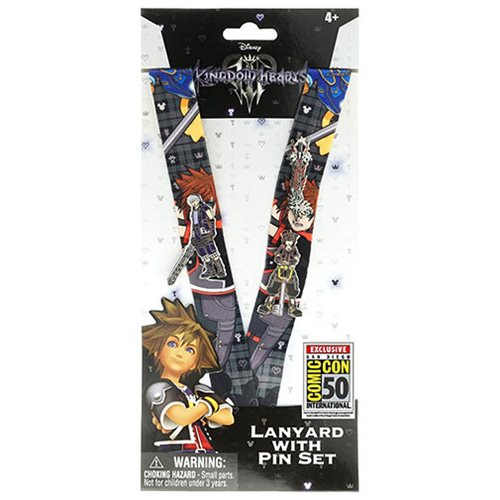 Kingdom Hearts Lanyard and Pin Set - San Diego Comic-Con 2019 Exclusive