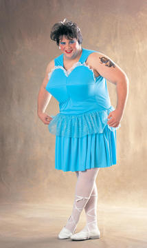 Fat Guy Ballerina Costume  sc 1 st  Entertainment Earth : halloween costume for fat guy  - Germanpascual.Com