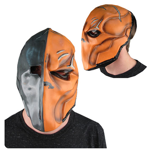 Batman Arkham Origins Deathstroke Deluxe Overhead Latex Mask