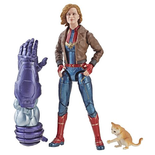 Captain Marvel Marvel Legends Carol Jacket Figure