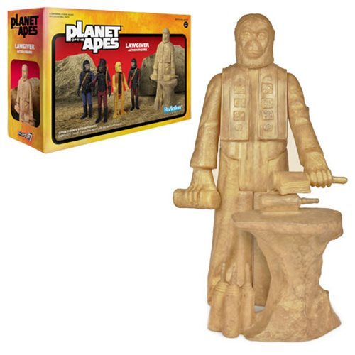 Planet of the Apes Lawgiver Statue ReAction Figure